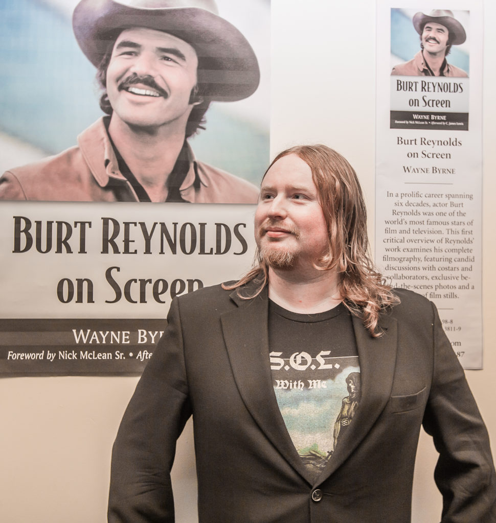 'Why Burt?' Wayne Byrne, Author of Burt Reynolds on Screen