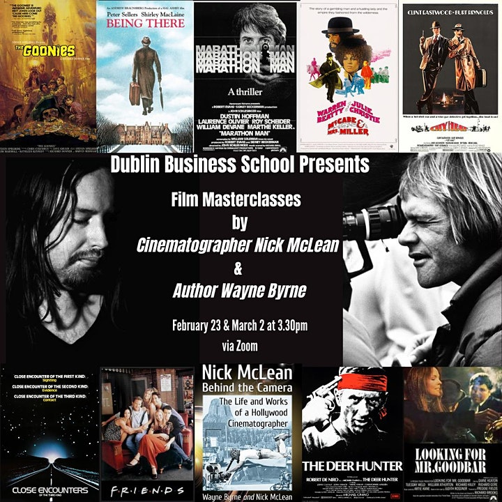 Dublin Business School Film Lectures: Nick McLean & Wayne Byrne