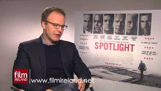 Video: Interview with Tom McCarthy, director of 'Spotlight'