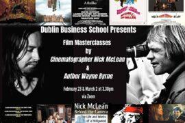 Dublin Business School Film Lectures: Nick McLean & Wayne Byrne